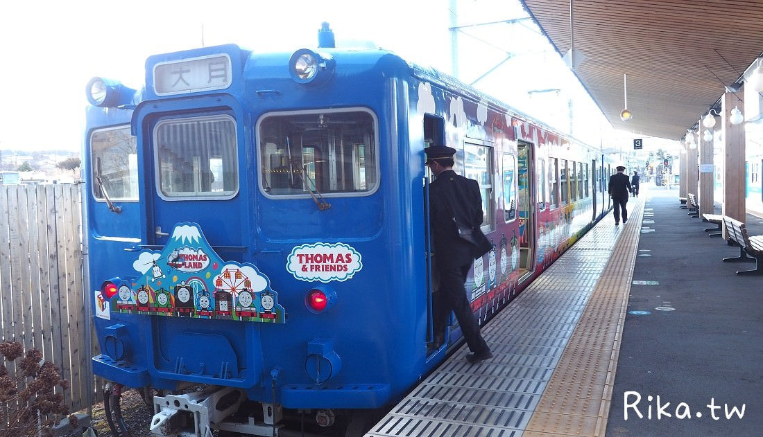 富士急行河口湖湯瑪士小火車