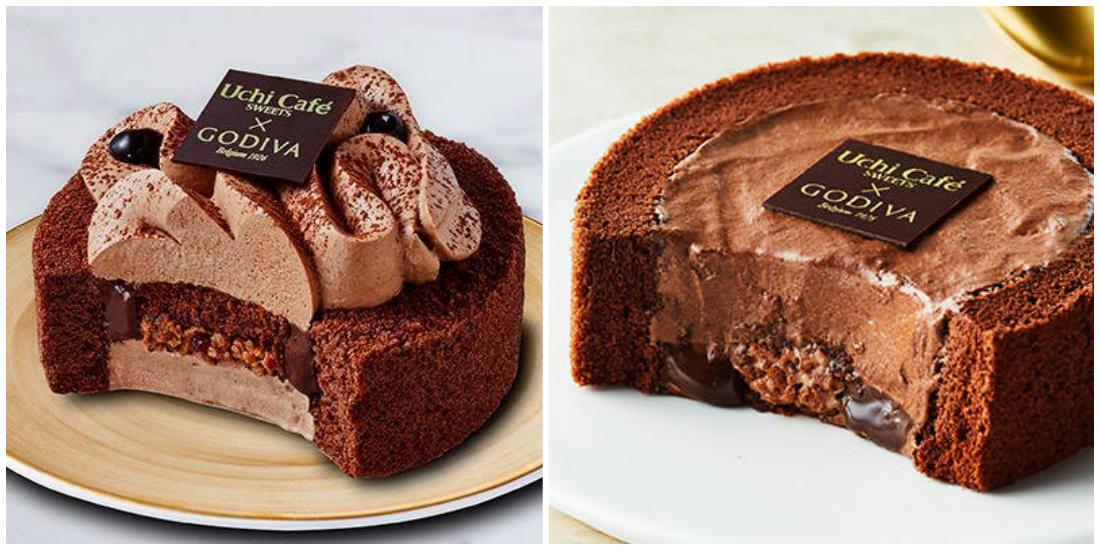 lawson godiva 限定巧克力甜點
