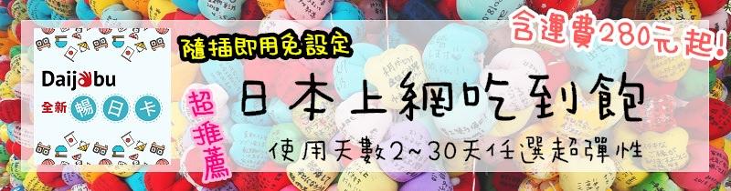 Daijobu 日本網卡買這張最划算!!