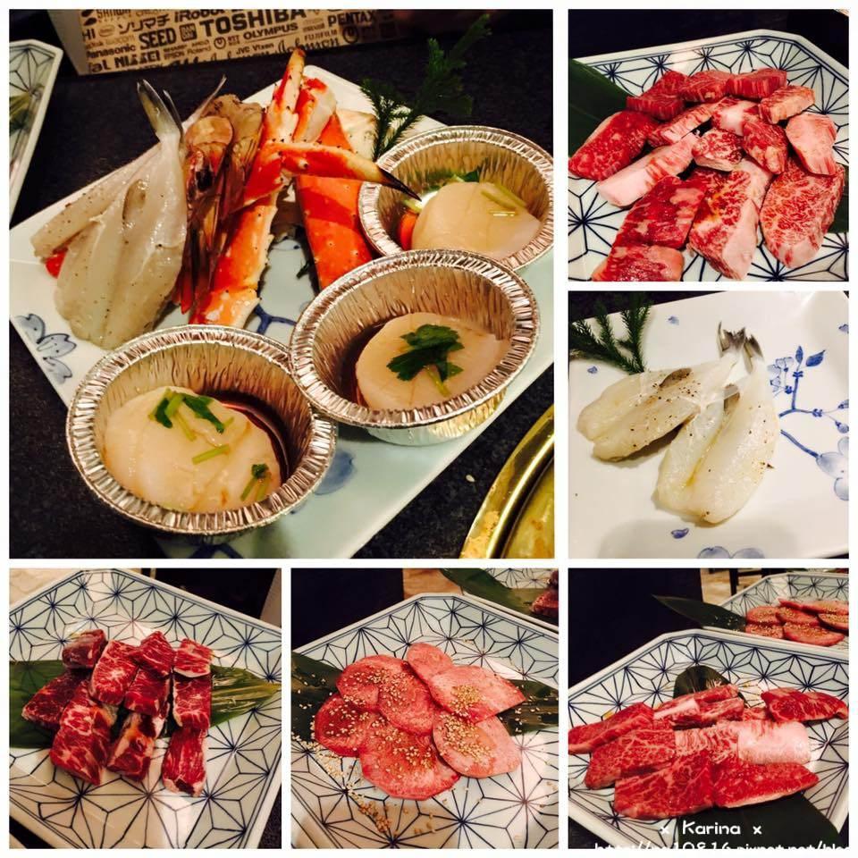 【2016東京自由行】新宿人氣燒肉吃到飽 六歌仙Rokkasen♥ 帝王蟹/燒肉一次滿足