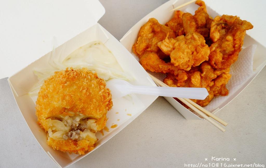 【食記*高雄】胖卡美食 ♥ 有吉可樂餅♥ 好好吃的可樂餅與唐揚炸雞♬~
